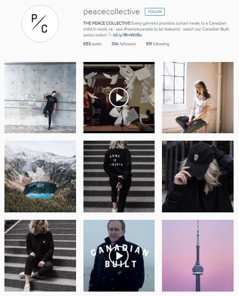 Instagram Peace