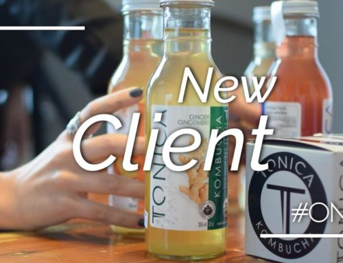 On Q Communications agency of record for Dragons' Den alumni Tonica Kombucha