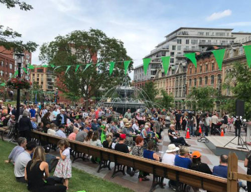 Berczy Park Re-opens with a Bang (and a Bark!)