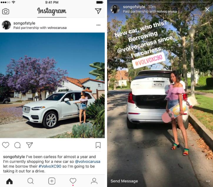 Paid Sponsorship Instagram
